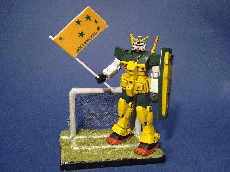 Socceroos Gundam! DSC05806